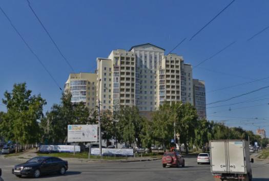 Каркас жилого многоэтажного дома по ул.Блюхера.