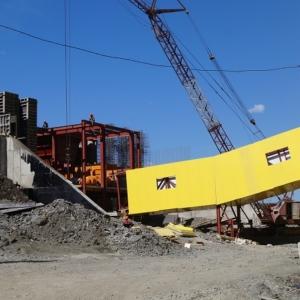 Приемный бункер золотоизвлекательной фабрики. Тарынский горно – обогатительный комбинат.