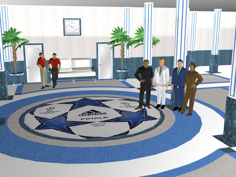 Зал крытого футбольного манежа «Заря»