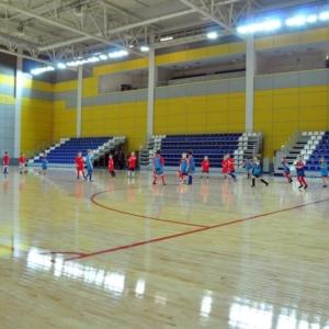 Зал минифутбола крытого футбольного манежа «Заря»