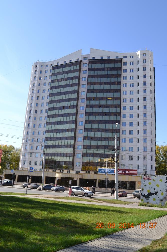 Каркас жилого многоэтажного дома по ул.Громова.