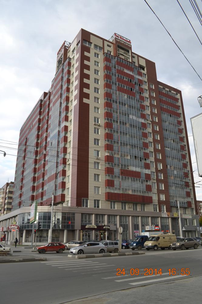 Каркас жилого многоэтажного дома по ул.Гоголя.