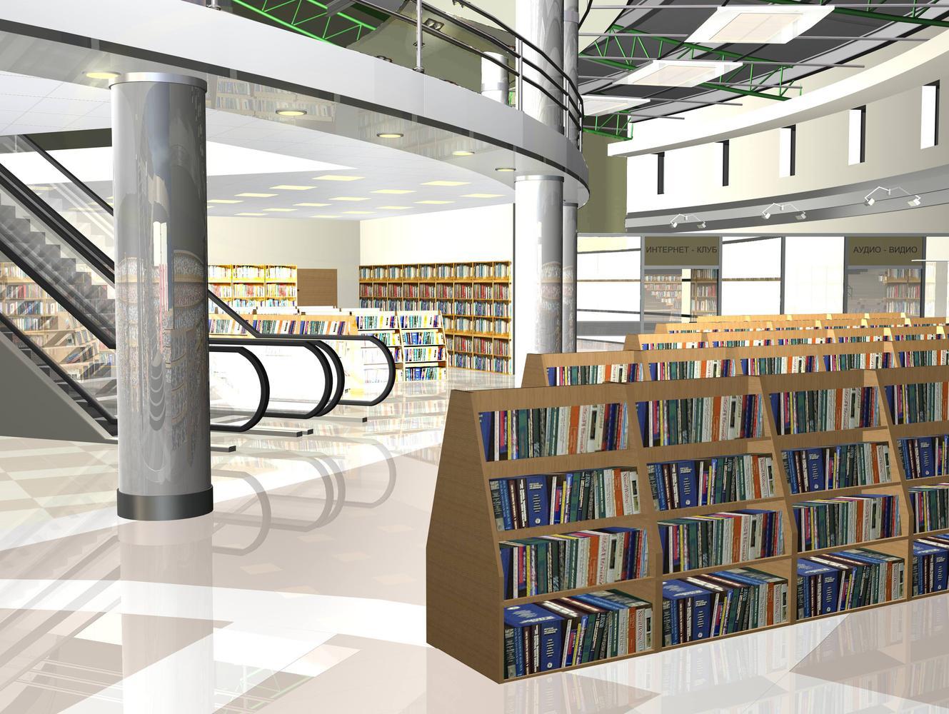 Интерьер книжного магазина «ТОП – Книга»
