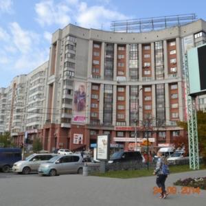 Каркас жилого многоэтажного дома по ул.Зыряновской.