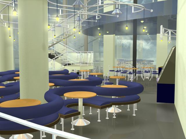 Интерьер кафе книжного магазина «ТОП – Книга»