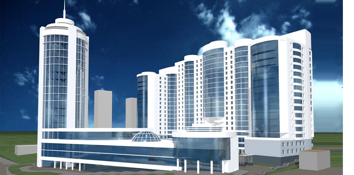 Проект жилого комплекса по ул. Инской.