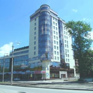 Каркас жилого многоэтажного дома по ул.Депутатской.