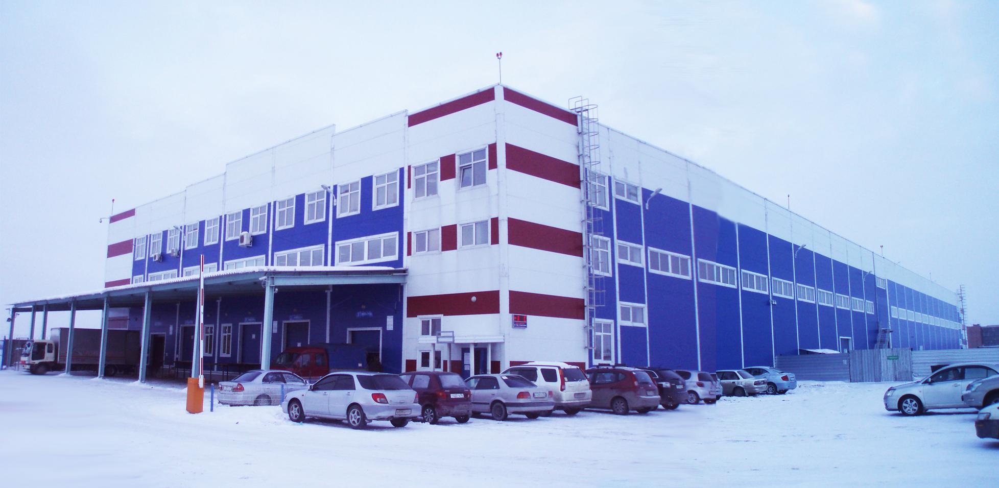 Грузовой терминал «Толмачево».