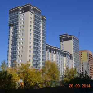 Многоэтажный жилой дом с помещениями общественного назначения, подземной автостоянкой и трансформаторной подстанцией по ул. Сибиряков-Гвардейцев.