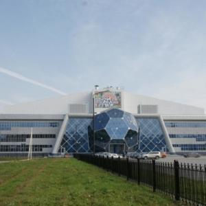 Комплексное проектирование и проект мониторинга строительных конструкций крытого футбольного манежа на 3500 зрителей, по Спортивной улице в г.Новосибирске.