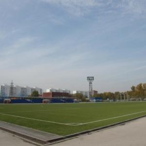 Четыре футбольных поля по ул. Спортивной в Ленинском районе, г.Новосибирск